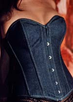 Vollers Corset V1106 Blue Denim