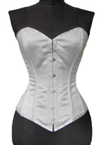 Vollers Corset V1106 Satin Ivory