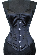 Vollers Corset V1106 Satin Black