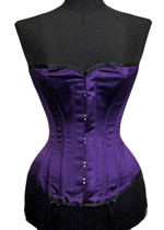Vollers Corset V1905 Satin Purple